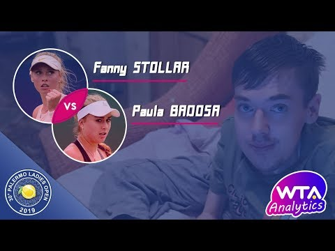 Stollar F. - Badosa G. P. | 2019 Palermo International | WTA analytics