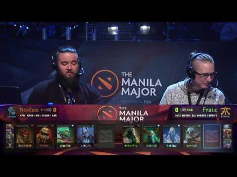 [SWE] Manila Major Main Event| Newbee vs Fnatic G1