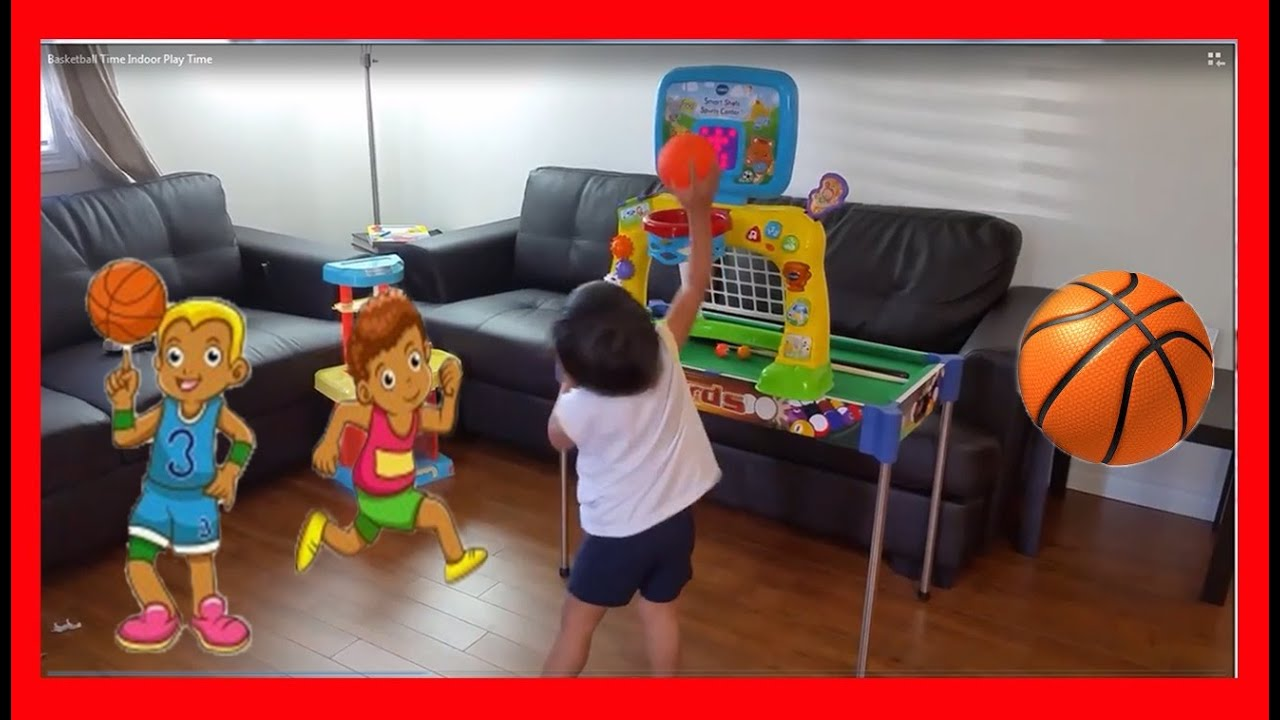 BABY BEST BASKET BALL PLAYER INDOOR PLAYTIME MINI BASKET BALL GAME ...
