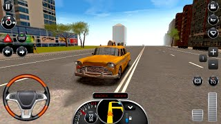 Taxi Sim 2016 Checker Taxi Cab