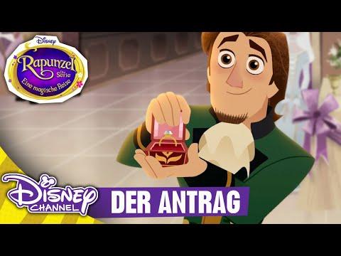 RAPUNZEL - DIE SERIE - Clip: Der Antrag | Disney Channel
