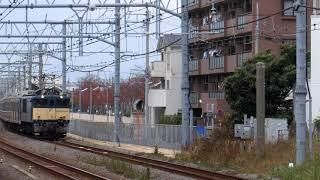 南武線205系1200番台ナハ51編成長野配給 辻堂通過