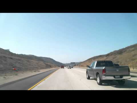 Driving from San Diego, CA to Temecula, CA, USA in 5 minutes