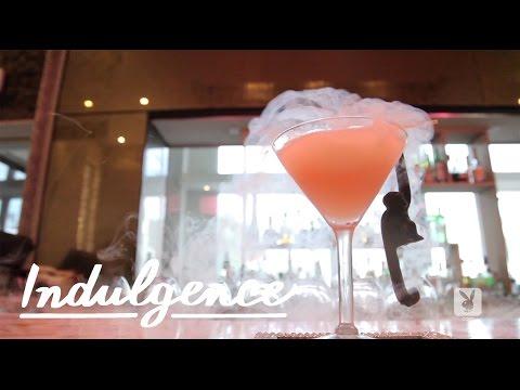 A Dry Ice Vodka Cocktail - The Sabrinatini