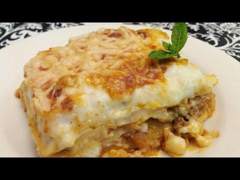 Lasagne youtube for Cuisine olfa