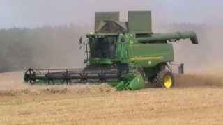 Żniwa 2013 !!! Harvest 2013 !!! Rzepak i Żyto /Case 1680/John Deere 9880i STS - Spudłów