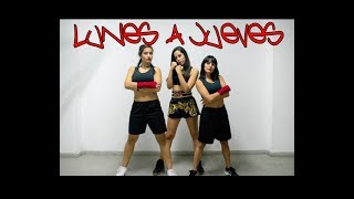 Lunes A Jueves - Leslie Grace & Farina  Coreo Fitness Zumba Fitness By Marveldancers
