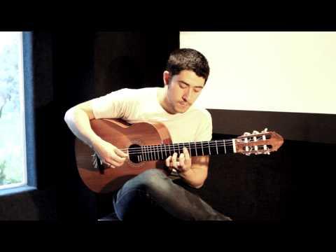 Classical Guitar - Vals Venezolano No. 1 - Jesse Liang Music