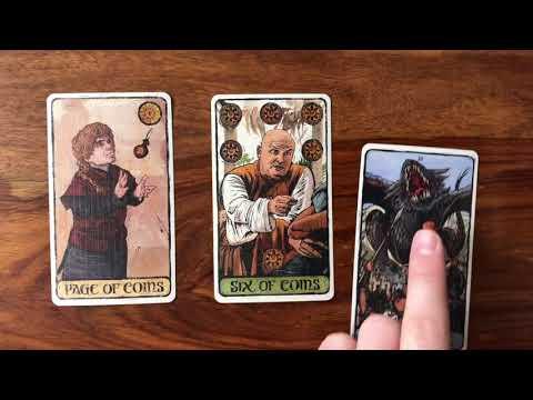 Daily Tarot Reading for 26 March 2018 | Gregory Scott Tarot (Game of Thrones Tarot)