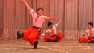 Танец-ползунец
