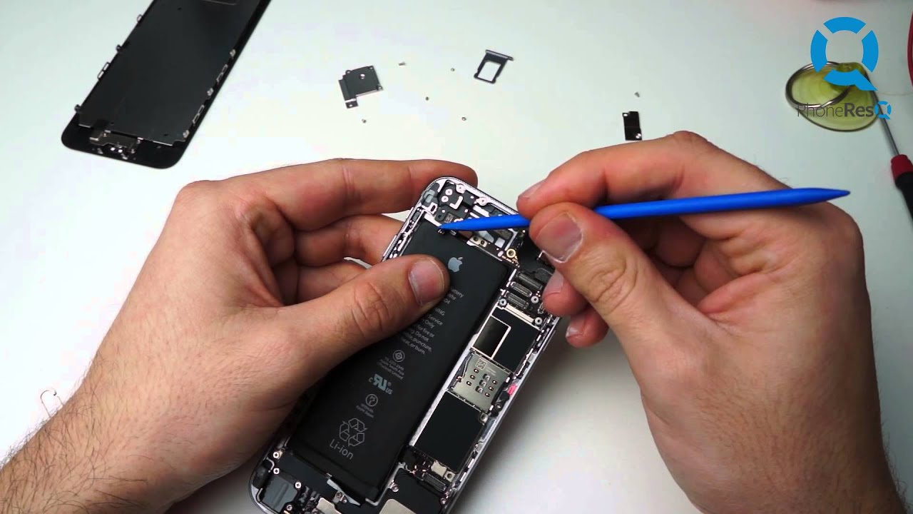 how to fix water damaged iphone 6 reparatie iphone 6 contact cu lichid iphone 6 water 6810