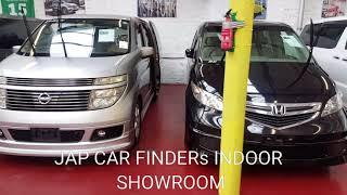 JAP CAR FINDER INDOORS SHOWROOM