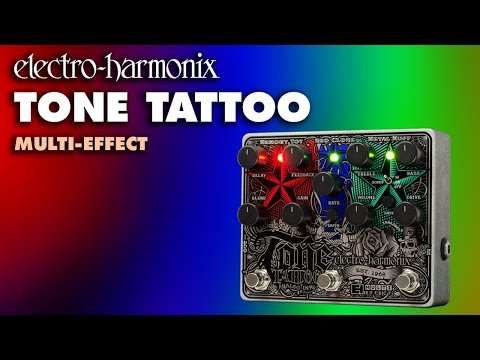 electro harmonix tone tattoo analog multi effects pedal youtube. Black Bedroom Furniture Sets. Home Design Ideas