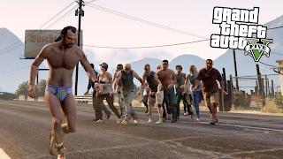 ЗОМБИ АПОКАЛИПСИС в GTA 5! ВЫЖИВАЮ В ОДНИХ ТРУСАХ!