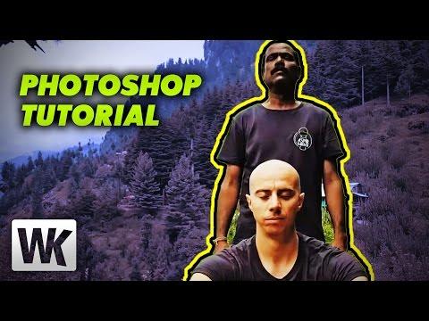 Photoshop tutorials: google map parody photo manipulation.