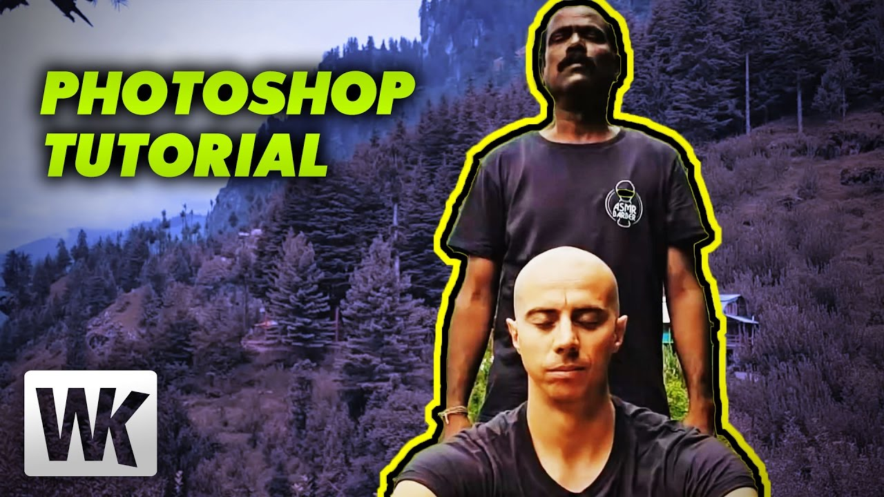 Relaxing photoshop tutorial 11 w/asmr barber & baba the cosmic.