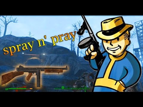 how to get spray and pray fallout 4