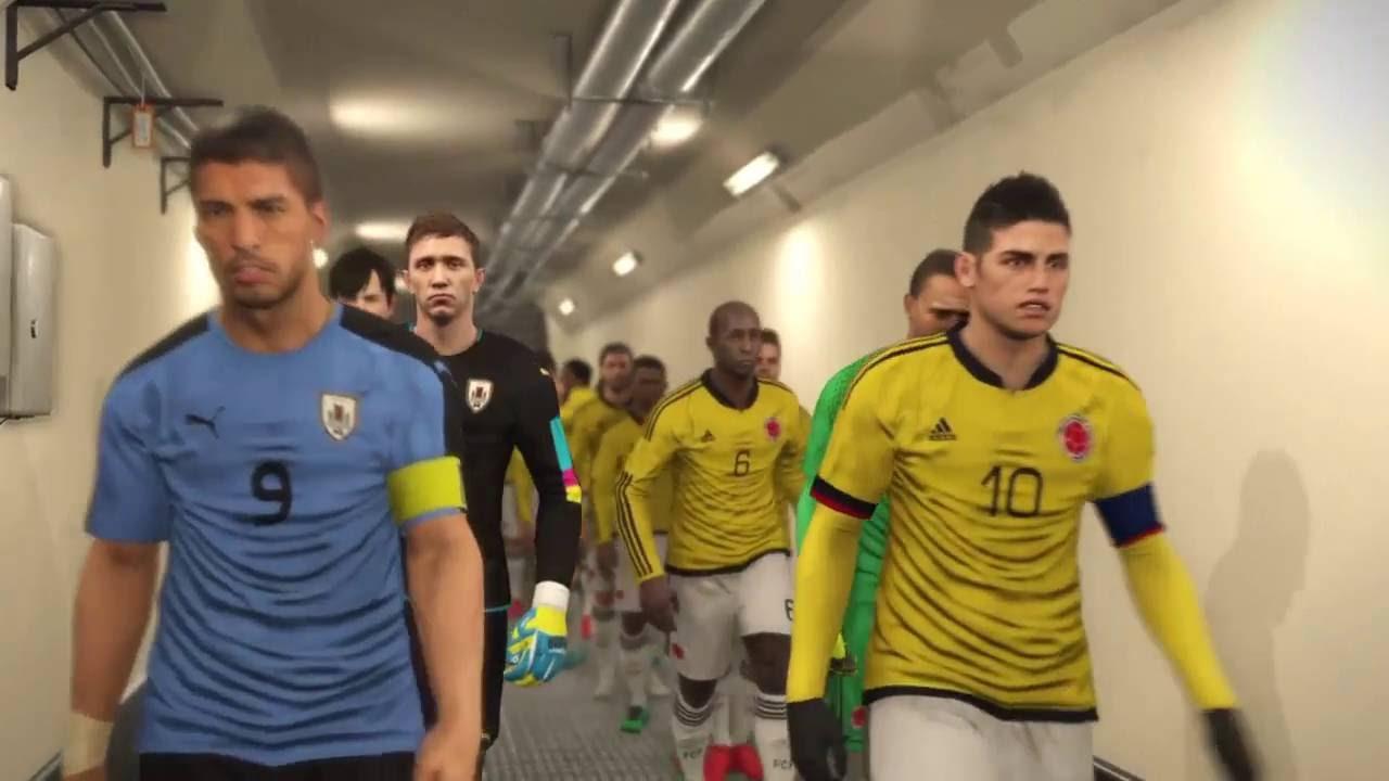 Colombia Vs Uruguay: PES 2017 Colombia Vs Uruguay