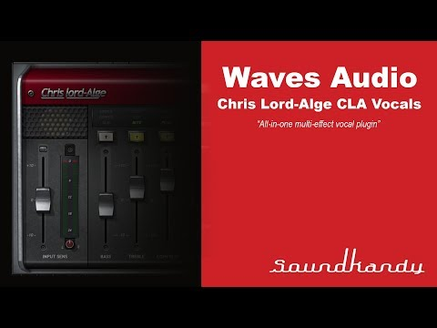 Waves Audio Cla Vocals Plugin Review Youtube