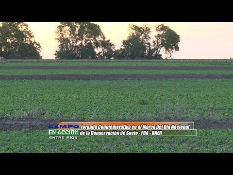 Jorge Cerana - Docente FCA UNER - Conservación de suelos en Entre Ríos