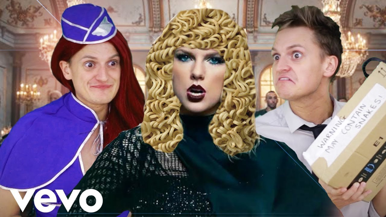 Taylor Swift Look What You Made Me Do Parody Youtube