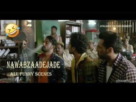 Download NAWABZAADE ALL FUNNY SCENES FROM MOVIE   RAGHAV JUYAL, PUNIT J PATHAK, ISHA RIKHI, VIJAY RAAZ   2018