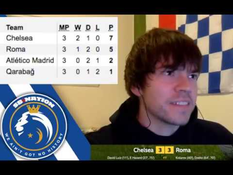 Chelsea 3-3 AS Roma: Post-match reaction