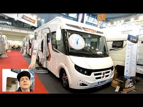 CHALLENGER SIRIUS 3067 GA RV MOTORHOME NEW MODEL 2019 FIAT DUCATO CAMPER WALKAROUND AND INTERIOR