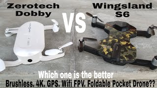 wingsland S6 VS Zerotech Dobby. Which one is Better?? lots of flight footage!!