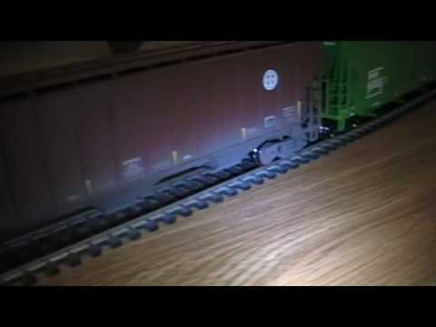 "My HO Model Trains. BNSF Manifest & ""Amtrak 799."""