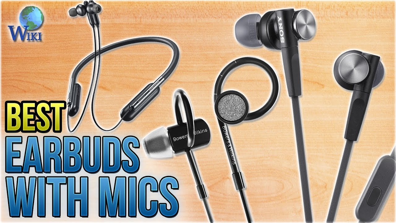 46ff62b7497 10 Best Earbuds With Mics 2018 - YouTube