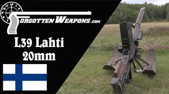 20mm Lahti L39 Antitank Rifle (Shooting & History)