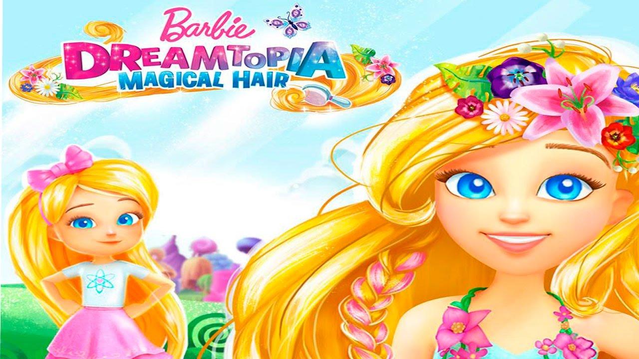 Волшебные волосы игра