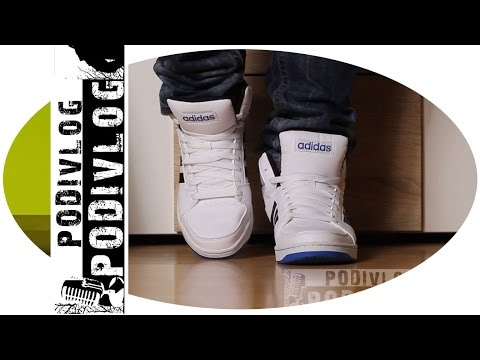 ADIDAS Mens Hoops Mid Lth Sports Shoes review   adidas cipő bemutató 109ba3bb7be