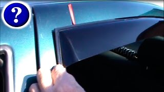 видео Дефлекторы капота и боковых стекол Opel (Опель)