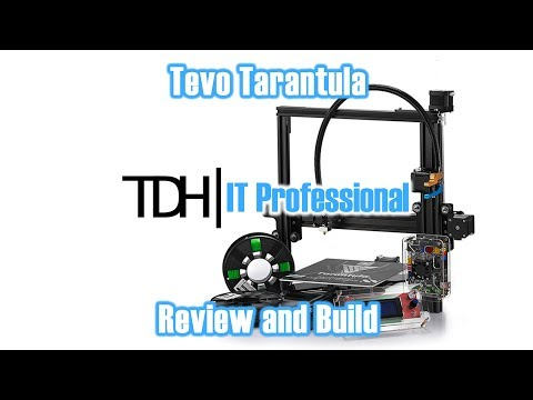 Tevo Tarantula Review  Great printer for the TinkererDIY Person!