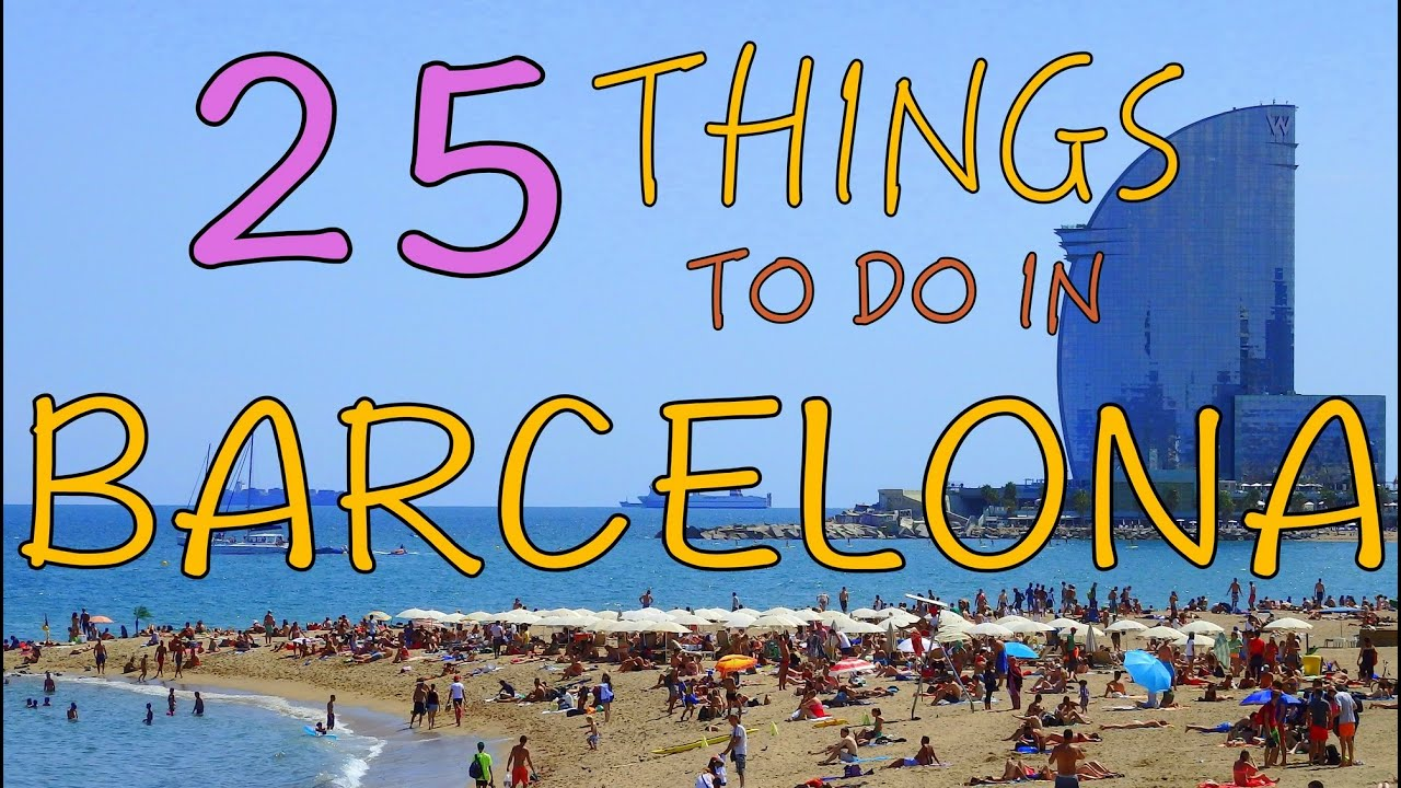 25 things to do in barcelona spain top attractions travel guide 25 things to do in barcelona spain top attractions travel guide youtube stopboris Gallery
