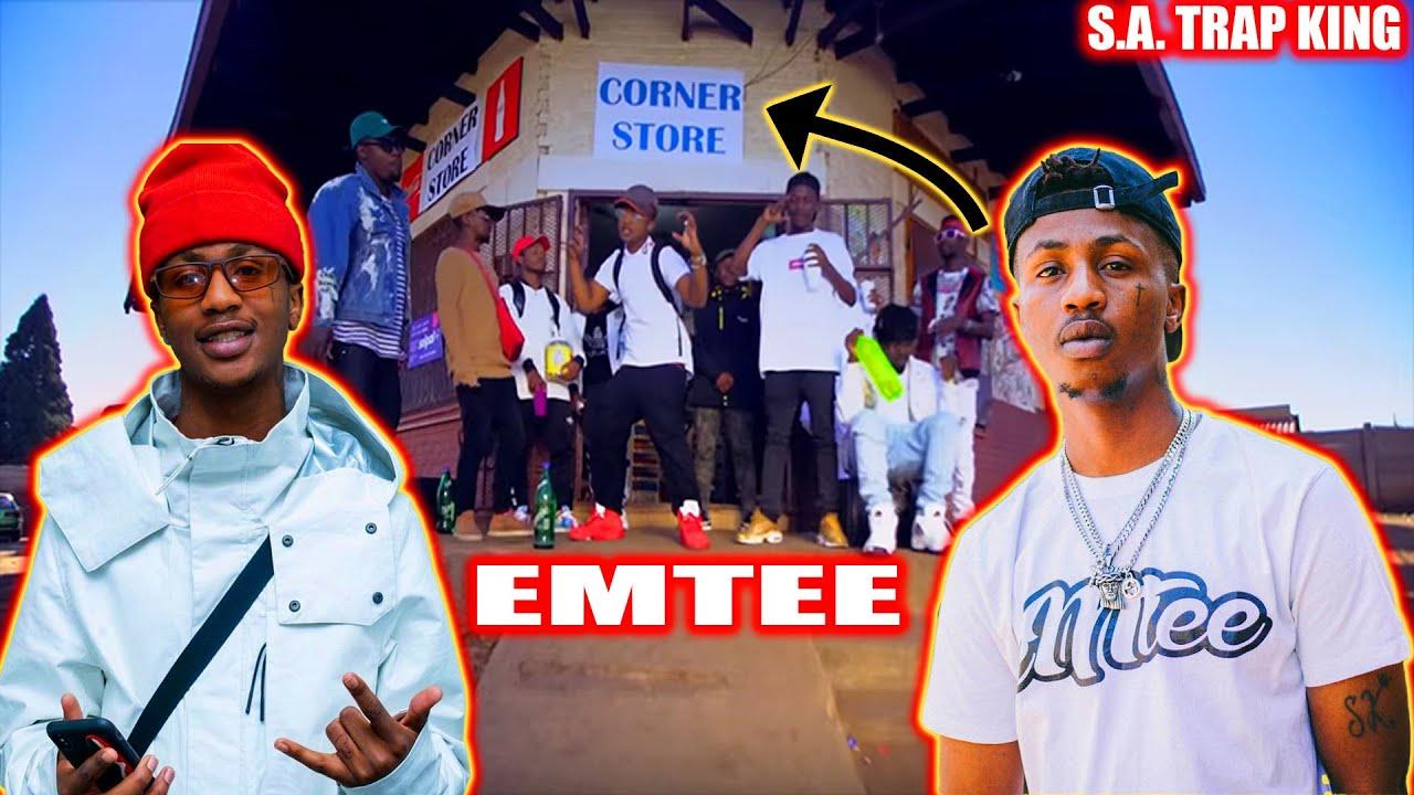 Download Emtee - Corner Store (Official Video) TREZSOOLITREACTS