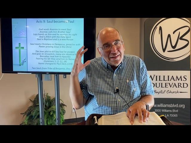 WBBC Byron's Bible Fellowship July 11, 21