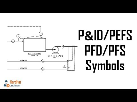 PID and PFD Drawing Symbols and Legend list (PFS  PEFS)