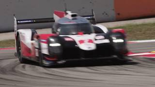 2019-2020 TS050 HYBRID on-track action