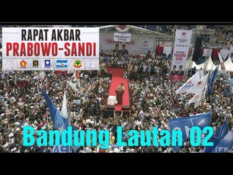 Bandung Lautan Massa Prabowo Hari ini