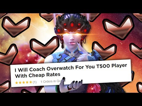 I hired a Top 500 Overwatch Coach on Fiverr and pretended to be a Bronze Widowmaker