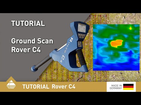 OKM Metal Detector Rover C4 - Ground Scan Procedure [EN]