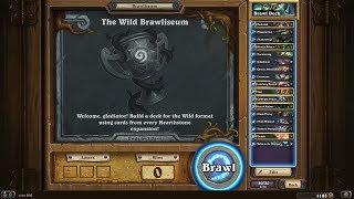 HearthStone The Wild Brawliseum Kings Bane part 1 - Blizzard please