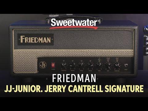 Friedman JJ-JUNIOR Jerry Cantrell Signature Amp Demo