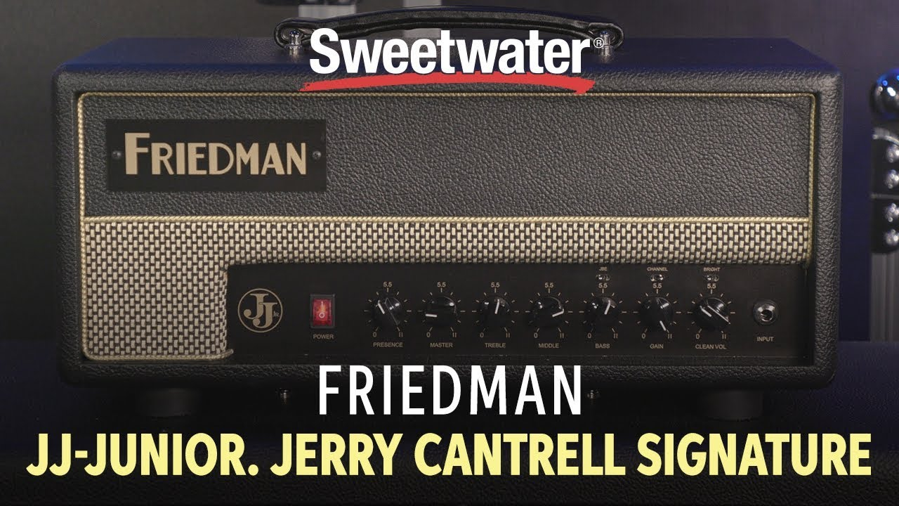 Friedman JJ-JUNIOR Jerry Cantrell Signature Amp Demo | Sweetwater