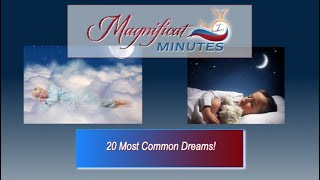 20 Most Common Dreams