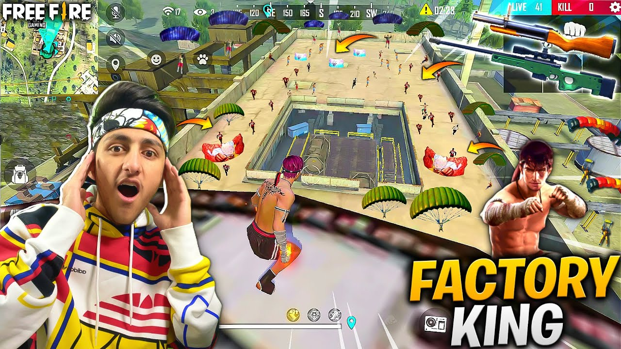 Factory King As Gaming Is Back 😍 49 Player In Last Zone *Must Watch* - Garena Free Fire
