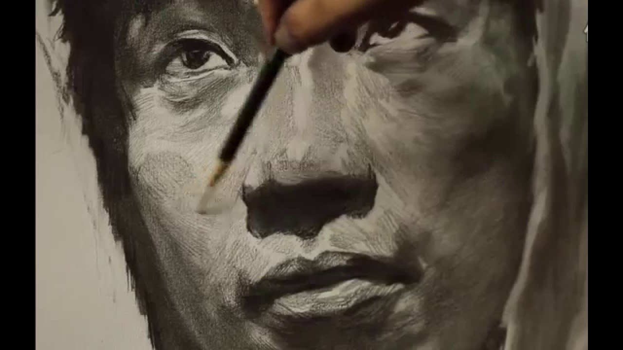 Portrait Drawing Tutorial Step by step - YouTube